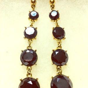 Jewelry - Blue Onyx Dangle Earrings